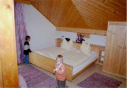 Das Doppelzimmer mit Zusatzbett