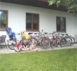 Fahrräder der Pesnion Sydler