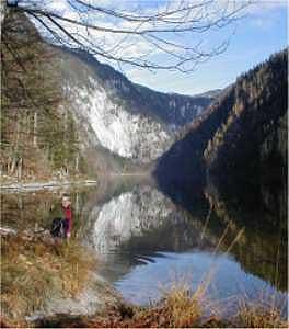 Wander am Toplitzsee