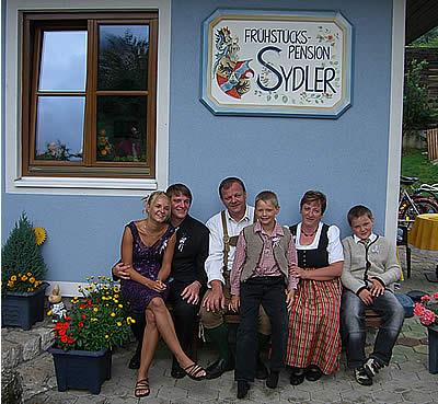 Jo, Edi, Leo, Andi, Brigitte und Siegi