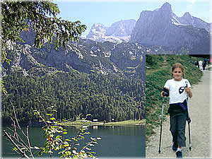 Nordic-Walking am Gosausee