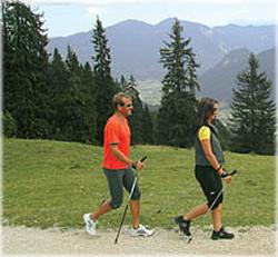 Nordic Walking in Obertraun